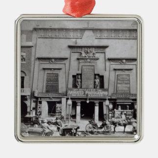Egyptiska Hall, Piccadilly 1895 Julgransprydnad Metall