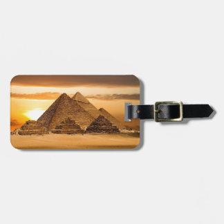 Egyptiska pyramider bagagebricka
