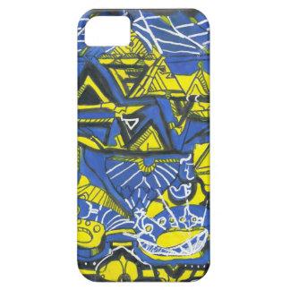 Egyptiska tider - abstrakt iphone case för iPhone 5 skydd