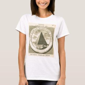 Egyptiskt kristet symbol för vintage 1677 t-shirt