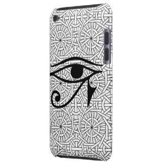 Egyptiskt öga- & mönsterFodral-Kompis iPod handlag Barely There iPod Överdrag