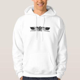 Egyptiskt symbol: Gam Sweatshirt Med Luva