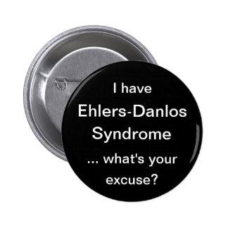 Ehlers Danlos syndrom Standard Knapp Rund 5.7 Cm
