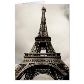 Eiffel torn 8 hälsningskort