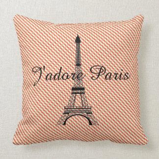 Eiffel torn J'adore Paris Kudde