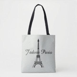 Eiffel torn J'adore Paris Tygkasse