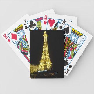 Eiffel torn: Las Vegas remsa Spelkort