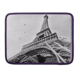 """Eiffel torn Macbook Pro 13"""" sleeve MacBook Pro Sleeves"""