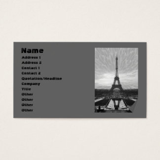 Eiffel torn, mall visitkort