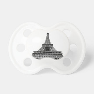 Eiffel torn på vitbakgrund napp