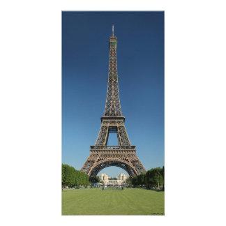 Eiffel torn, Paris, frankrike Fotokort