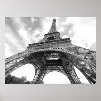 Eiffel torn, Paris, frankrike Poster