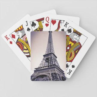 Eiffel torn, Paris, frankrike Spel Kort