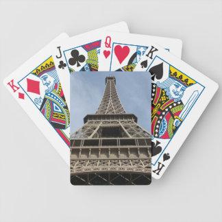 Eiffel torn, Paris, frankrike Spelkort