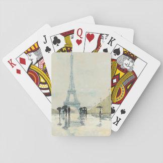 Eiffel torn   Paris i regna Spel Kort