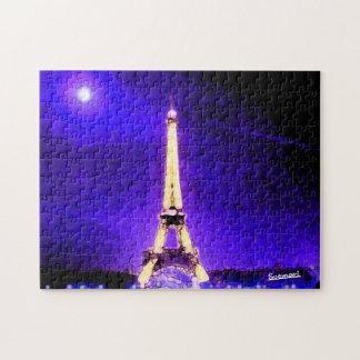 Eiffel torn pussel med foto
