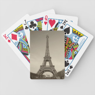 Eiffel tornbilar spelkort