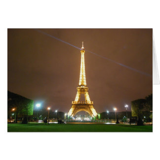 Eiffel tornParis frankriken - Springtimesemester Hälsningskort