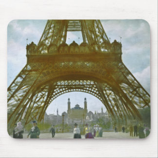 Eiffel tornParis utläggning 1900 Universelle Musmattor