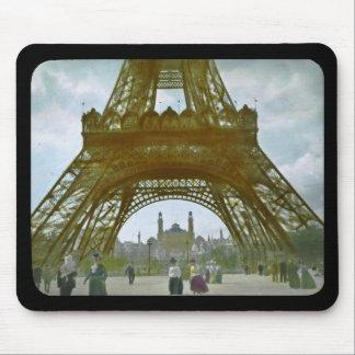 Eiffel tornParis utläggning 1900 Universelle Mus Mattor
