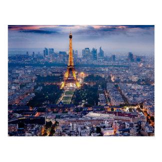 Eiffel tornvykort vykort
