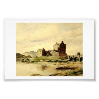 Eilean Donan Castle. Fototryck