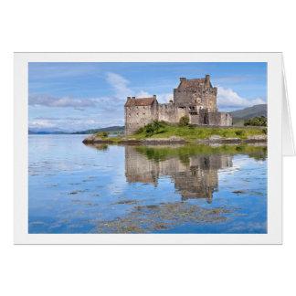 Eilean Donan slott Hälsningskort