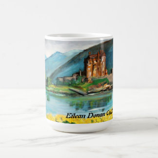 Eilean Donan slott - mugg