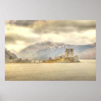 Eilean Donan slott Poster