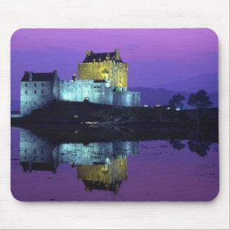 Eilean Donan slott, Skotska högländerna, Skottland Musmatta