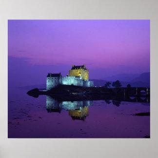 Eilean Donan slott, Skotska högländerna, Skottland Poster