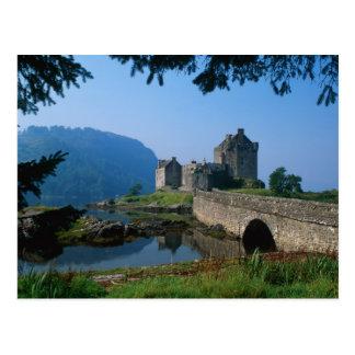 Eilean Donan slott, Skotska högländerna, Skottland Vykort