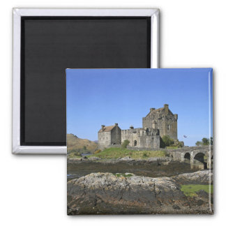 Eilean Donan slott, Skottland. Den berömda Eileane Magnet