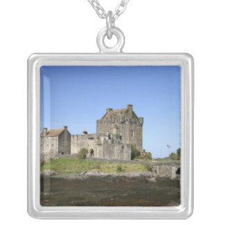 Eilean Donan slott, Skottland. Den berömda Silverpläterat Halsband