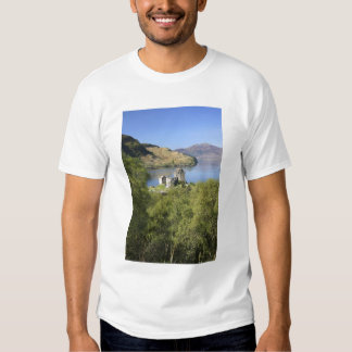 Eilean Donan slott, Skottland. Den berömda Tee