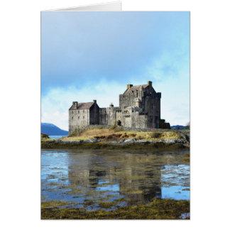 """""""Eilean Donan slott"""" - Skottland Hälsningskort"""