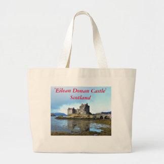 """Eilean Donan slott"" - Skottland Jumbo Tygkasse"