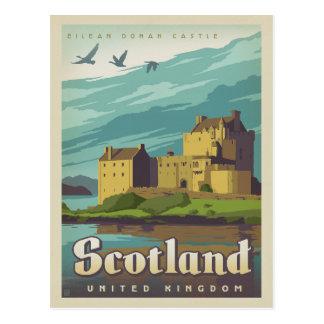 Eilean Donan slott - Skottland Vykort