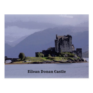 Eilean Donan slott Vykort