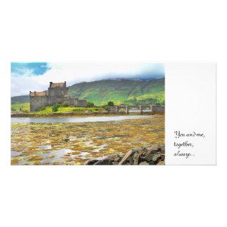 Eilean Donan slottfärg, Fotokort