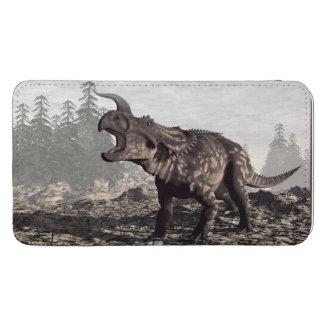 Einiosaurusdinosaur - 3D framför Mobilficka