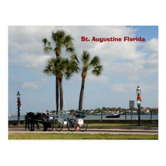 ekipage St Augustine florida Vykort