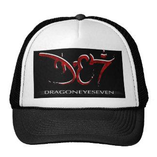 Eklektisk hatt för 80-tal DE7 Kepsar
