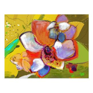 Ekollon- och blommavykort vykort
