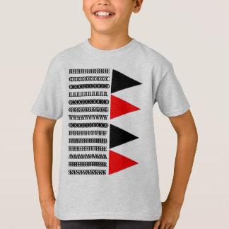 Ekologi av björnkolonner och trianglar tee shirt