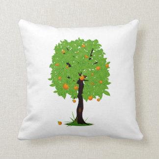 Ekologi design.png för orange träd kudde