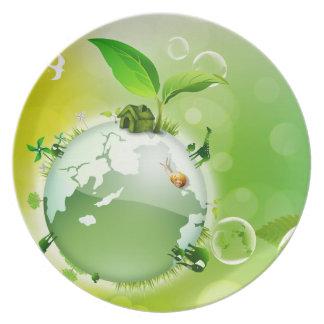 Ekologi: jorden är vårt hus - tallrik