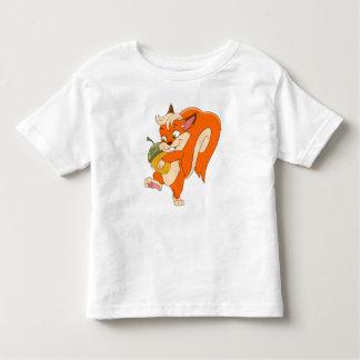 Ekorre med ekollonen tee shirts