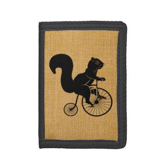 Ekorre som rider en cykel för