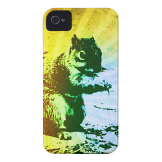 Ekorreblackberry fodral iPhone 4 Case-Mate skydd